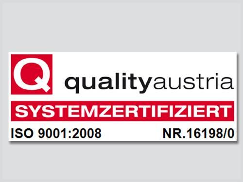 Syscom ISO Zertifizierung